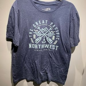 Great Pacific Northwest t-shirt xl